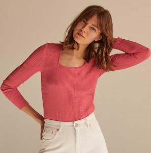 Czerwona bluzka Reserved