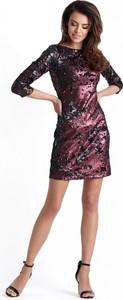 Sukienka Ivon mini z długim rękawem bodycon