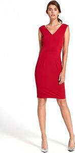 Sukienka Nife dopasowana bez rękawów
