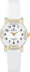 Zegarek na komunię damski PERFECT - L248-10A -biały