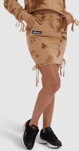 Brązowa spódnica Ellesse z bawełny