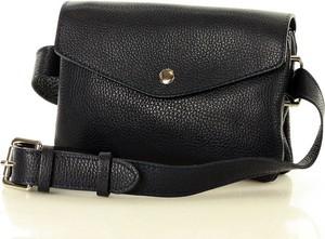 Czarna torebka Merg w stylu casual