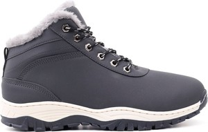 Buty zimowe Yourshoes ze skóry ekologicznej