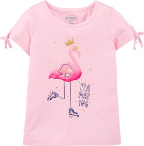Koszulka dziecięca OshKosh z bawełny z krótkim rękawem