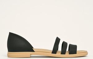 Sandały Crocs w stylu casual z płaską podeszwą