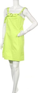 Zielona sukienka The Ragged Priest mini bez rękawów prosta