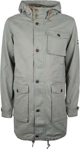 Niebieska kurtka Tommy Hilfiger w stylu casual z tkaniny