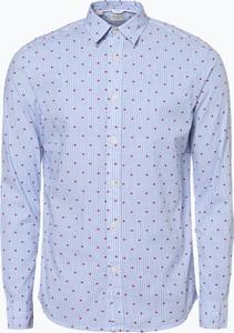Niebieska koszula Selected z długim rękawem w stylu casual