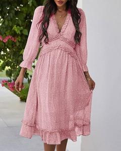 Sukienka Kendallme z długim rękawem