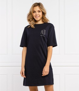 Czarna sukienka Armani Exchange mini