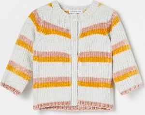 Sweter Reserved dla dziewczynek w paseczki
