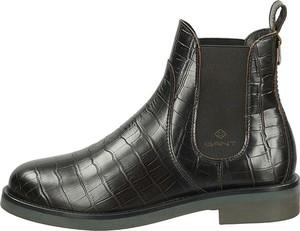 Czarne botki Gant Footwear