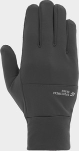 Czarne rękawiczki 4F