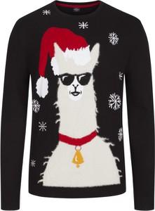 Sweter S.Oliver z bawełny z nadrukiem