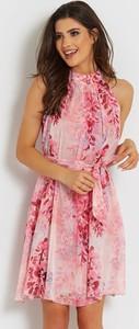 Sukienka Ivon z szyfonu bez rękawów