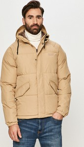 Brązowa kurtka Jack & Jones w stylu casual krótka