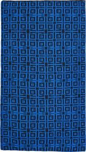 Niebieski szal męski Lavard