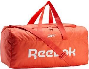 Pomarańczowa torba sportowa Reebok
