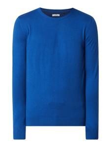 Sweter Tom Tailor w stylu casual z okrągłym dekoltem z bawełny