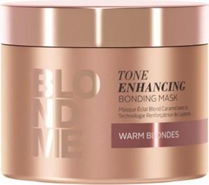 Schwarzkopf Blond Me Tone Enhancing Warm Blondes   Wzmacniająca maska do ciepłych odcieni blondu 200ml - Wysyłka w 24H!