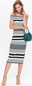 Sukienka Top Secret z odkrytymi ramionami