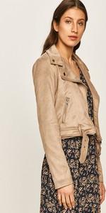 Kurtka Answear w stylu casual z zamszu