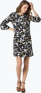 Opus - sukienka damska – winy flower, niebieski