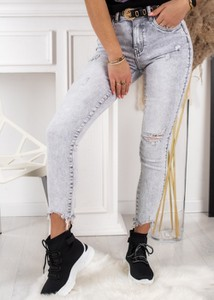 Jeansy Fason z jeansu