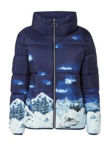Niebieska kurtka Esprit w stylu casual