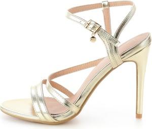 Sandały Prima Moda na szpilce z klamrami