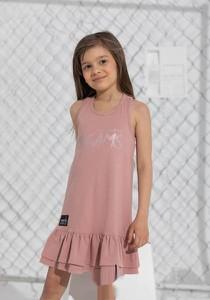 Różowa sukienka dziewczęca Mashmnie