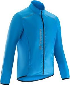 Niebieska kurtka b'twin