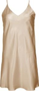 Sukienka So Fluffy na ramiączkach z jedwabiu mini