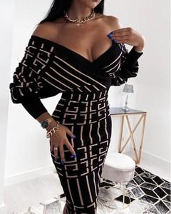 Sukienka Kendallme z dekoltem w kształcie litery v w stylu casual dopasowana