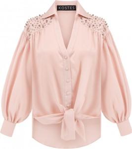 Różowa koszula KOSTES