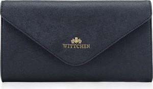 Granatowa torebka Wittchen do ręki mała matowa