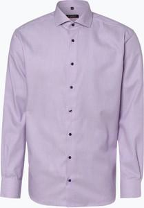 Fioletowa koszula Eterna z długim rękawem
