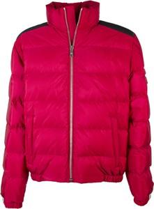 Czerwona kurtka Prada krótka w stylu casual