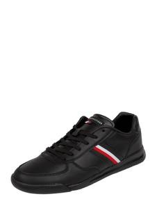 Buty sportowe Tommy Hilfiger sznurowane w sportowym stylu ze skóry