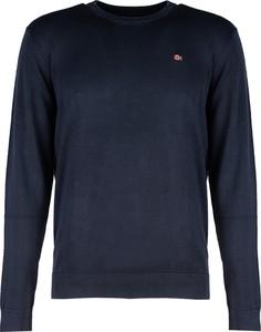 Sweter ubierzsie.com z okrągłym dekoltem w sportowym stylu z bawełny