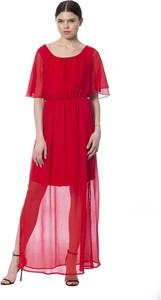 Czerwona sukienka Silvian Heach maxi