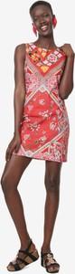 Sukienka Desigual bez rękawów mini