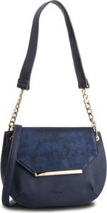 Niebieska torebka Gabor średnia na ramię
