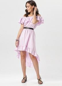 Sukienka born2be rozkloszowana hiszpanka w stylu boho