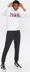 Czarne spodnie sportowe House z dresówki