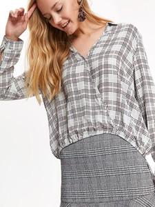 Koszula Top Secret z tkaniny z długim rękawem w stylu casual