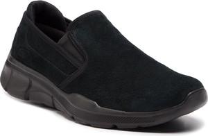Buty sportowe Skechers ze skóry w sportowym stylu