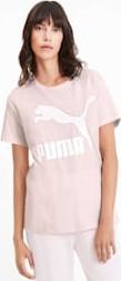 Różowy t-shirt Puma z bawełny
