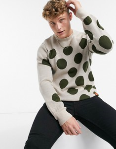 Czarny sweter Raeburn z wełny