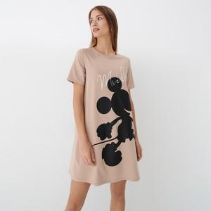 Sukienka Mohito mini prosta w młodzieżowym stylu